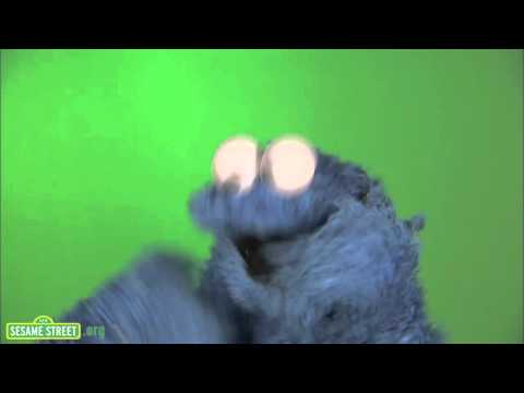 Cookie Monster Eating Cookie video