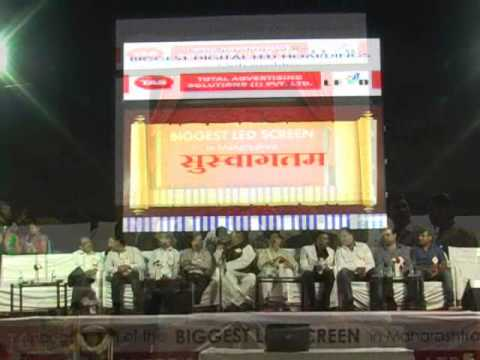 Largest LED In Maharastr By TAS| MPC News | Pune | Pimpri-Chinchwad