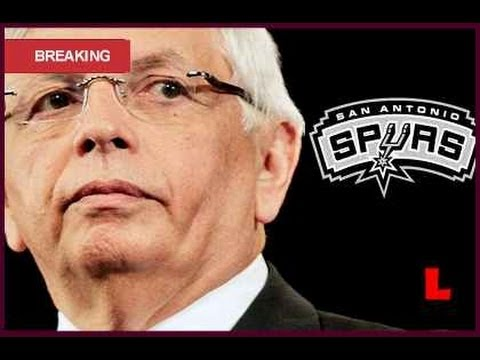 Spurs Fined $250,000 by David Stern