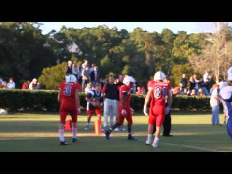 Hilton Head Preparatory School - Homecoming - Touchdown Run - 10/28/2013