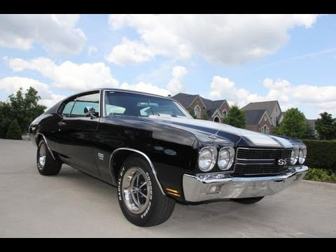 1970 chevrolet chevelle ss classic muscle car for sale in mi vanguard motor sales youtube. Black Bedroom Furniture Sets. Home Design Ideas