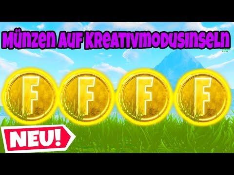 Fortnite: Sammle Münzen auf vorgestellten Kreativmodusinseln!   Verlängerungsherausforderungen