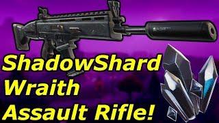 Fortnite - ShadowShard Wraith Assault Rifle God Roll Perks! (Fortnite STW) Energy Element