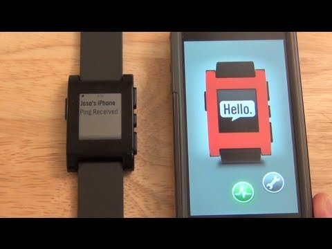 Pebble Smartwatch - Reloj inteligente Pebble