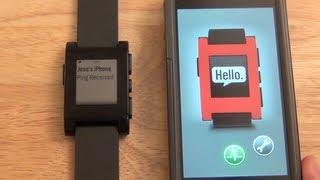 Pebble Smartwatch - Reloj inteligente Pebble