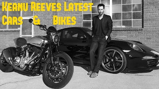 Keanu Reeves Latest Cars & Bikes Collection 2018
