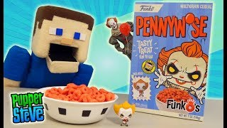 PENNYWISE IT Movie FUNKO CEREAL UNBOXING! NECA Exclusive Mini Pop  Action Figure SERIES 2