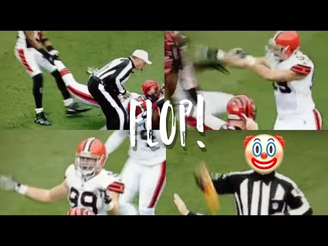 This season (2011) there has been a rise of fake flops and injuries just like soccer! Here is another example of a football player faking a foul and succeedi...