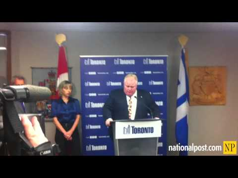 Rob Ford apologizes for profane comments