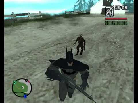 Batman vs el chupacabras (gta san andreas)
