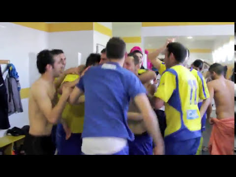 Celebracion vestuario play off