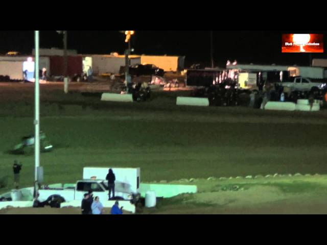 USAC SouthWest Sprint Car Main Event From Canyon Speedway Park March 16th 2013
