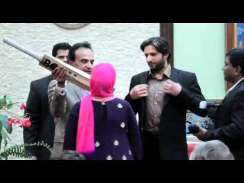 Shahid Afridi in Houston Shahid Afridi in Houston For a