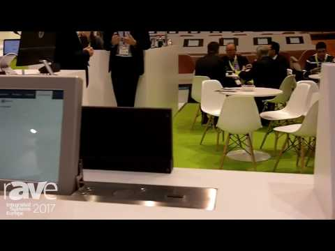 ISE 2017: Televic Conference Exhibits uniCOS Multimedia 10″ Video Solution
