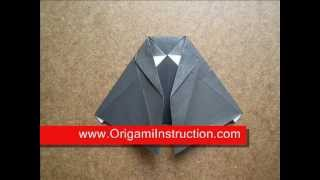 Paper Folding Origami Witch Dress