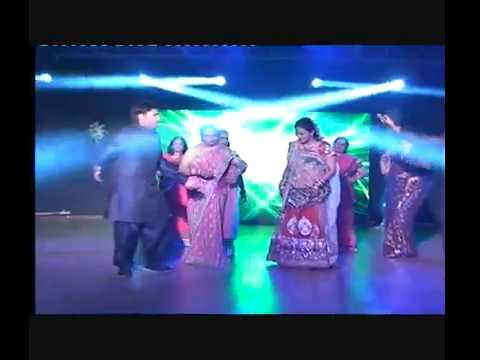 Damadji by Brides mom Kalpana Mansinghka & mausiji mamiji buaji...