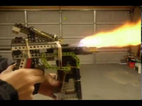 Lego Flamethrower