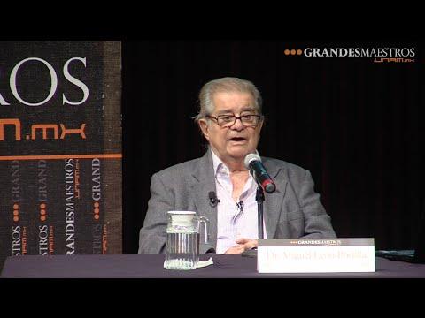 Miguel León-Portilla en Grandes Maestros.UNAM (primera sesión 1/2)