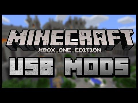 Minecraft Xbox One:: USB MODS USB [FULL TUTORIAL]::