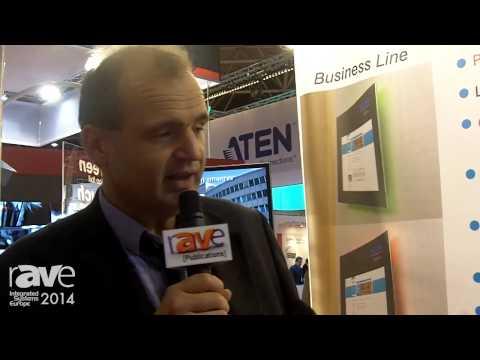 ISE 2014: Vicom Introduces BusinessLine Elegance Digital Displays