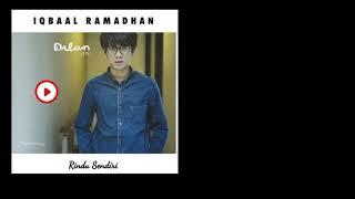 Iqbaal Ramadhan - Rindu Sendiri OST.Dilan1990 (official Audio)