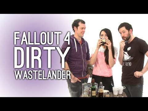 Fallout 4 Dirty Wastelander Cocktail: Make a Dirty Wastelander with Nuka Cola, Whiskey, Mutfruit