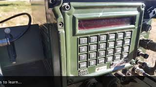 VRM-5080 Military Radio With a Moxon Antenna.