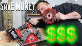 EXTEND The Life Of Any SAW BLADE And SAVE MONEY With This Simple Method!