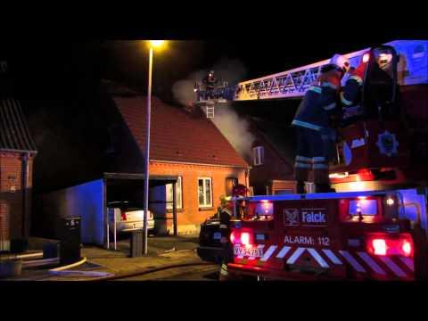 Husbrand Nakskov (Fire call Denmark)