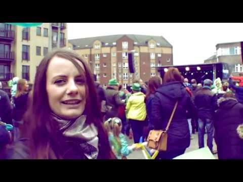 St Patrick's Day 2015: Watch Belfast people celebrate