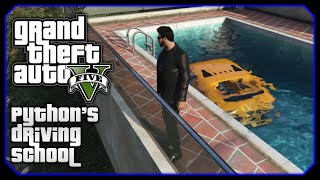 Bumblebee In A Swimming Pool! || Python's Driving School PILOT (GTA 5 Funny Moments & Stunts)