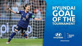 Yui HASEGAWA – HYUNDAI GOAL OF THE TOURNAMENT – NOMINEE