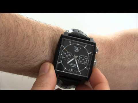 TAG Heuer Monaco Calibre 12 ACM Limited Edition Black Watch Review