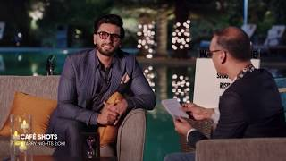 Café Shots Quickie Round With Ranveer Singh Starry Nights 2 Oh