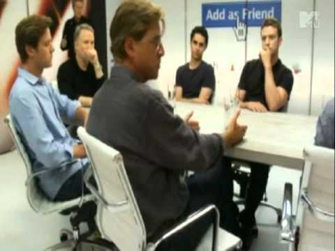 The Social Network MTV Roundtable