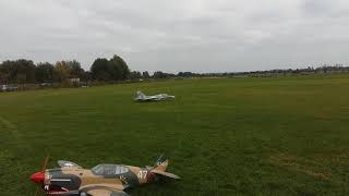 Rc jet engine plane