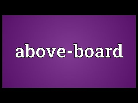 Header of Above-Board