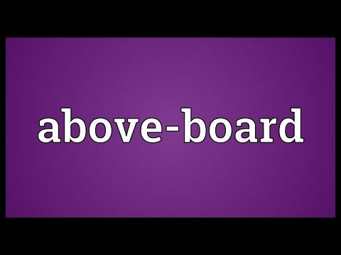Header of Above-Board