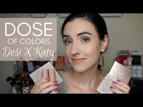 Dose of Colors Desi X Katy Collection | Swatches + Tutorial
