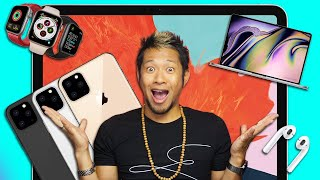 New iPhone 11 Pro, Apple Watch, iPad Pro, MacBook Pro, AirPods & HomePod details!