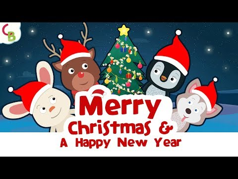 We Wish You A Merry Christmas and A Happy New Year | Christmas Songs for Kids | Cuddle Berries