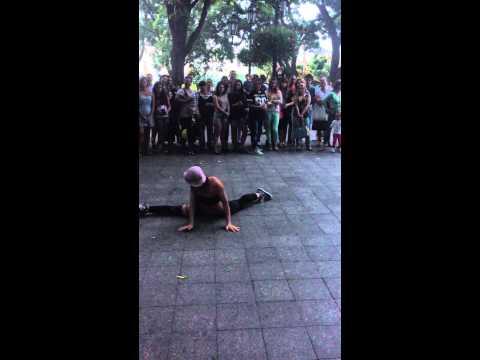 Twerk Odessa уличные танцы , крутая! 2015