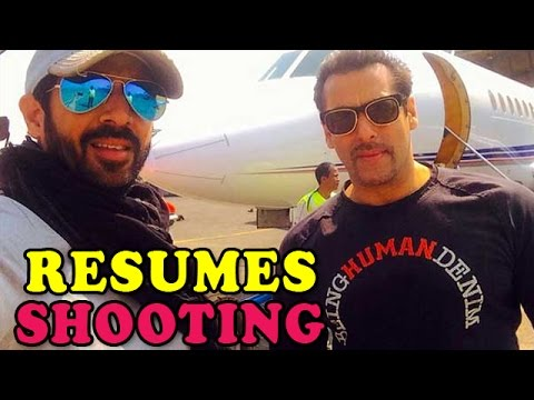 Salman Khan leaves to shoot in Kashmir | Bollywood News