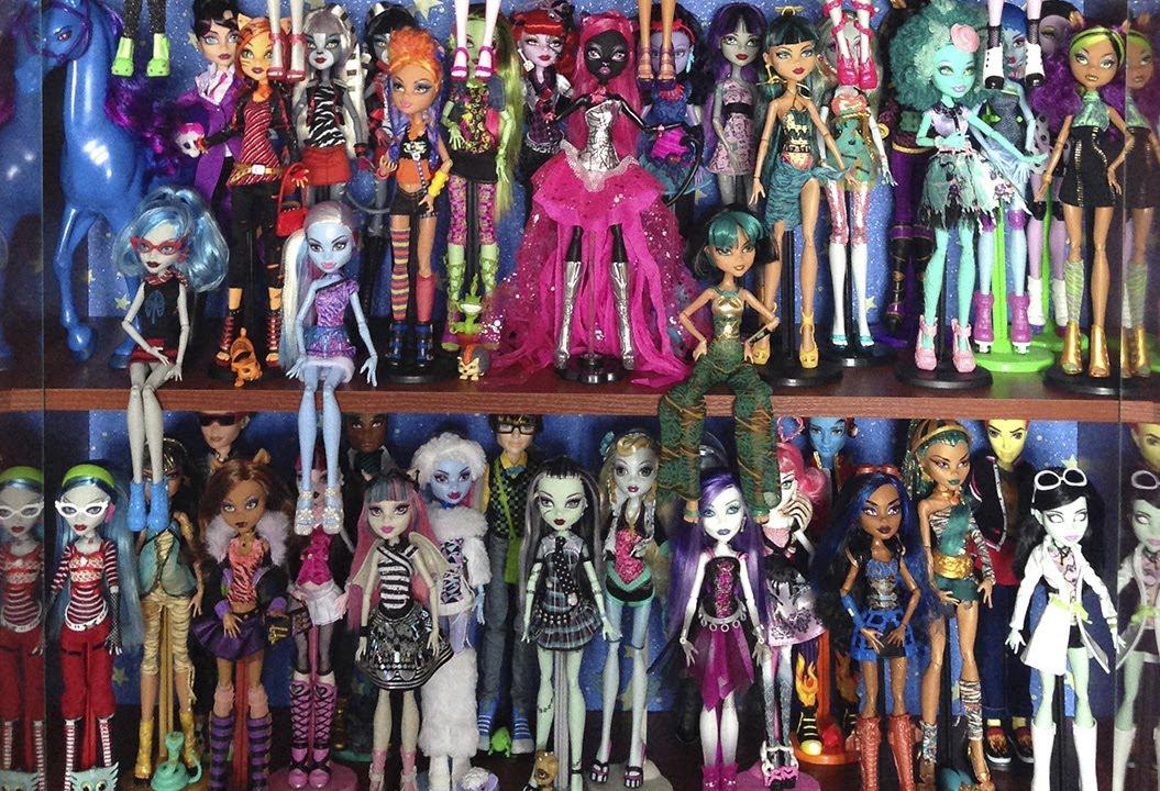 Вся коллекция кукол монстер хай