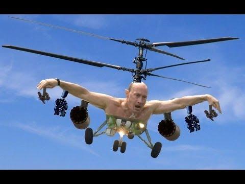 Russia vs America (Putin vs Obama) [Funny image parody #2]