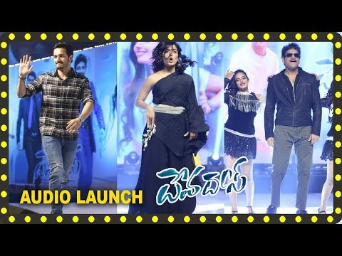 #Devadas Movie Pre Release Event / Audio Launch || Nagarjuna | Nani | Rashmika Mandanna
