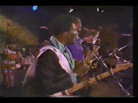 Albert Collins - 1988 Austin TX - pt 3 - Black Cat Bone