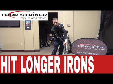Tour Striker - How to hit your irons longer with the same easy swing!