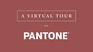 Virtual Tour of PANTONE Color Factory | TEALEAVES  #PaletteForYourPalate