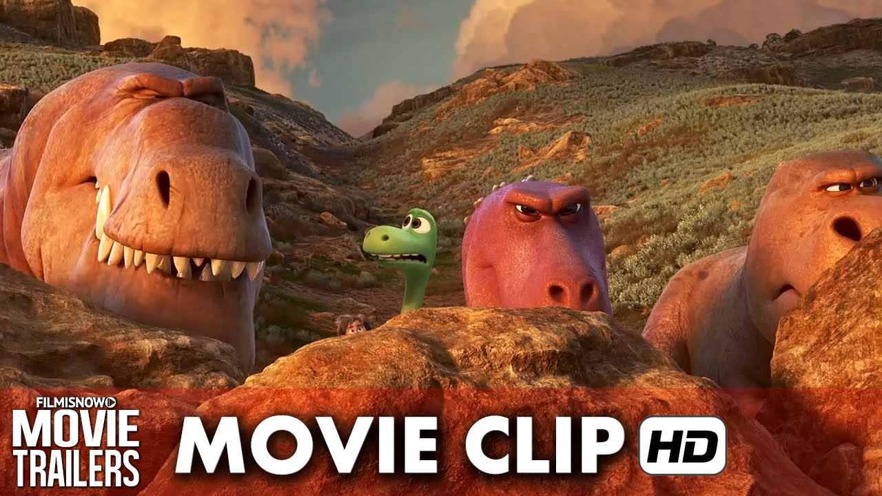 "The Good Dinosaur Movie Clip ""Jobs"" (2015) HD"